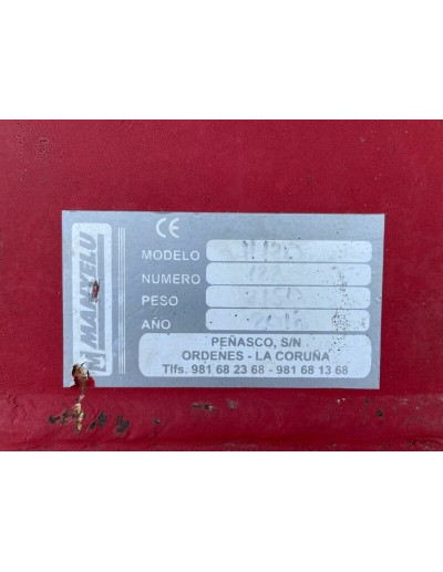 DESBROZADORA JUMAVA 140 US 2083